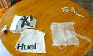 Huel Non recyclable bag
