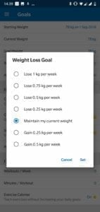 How to lose weight MFP
