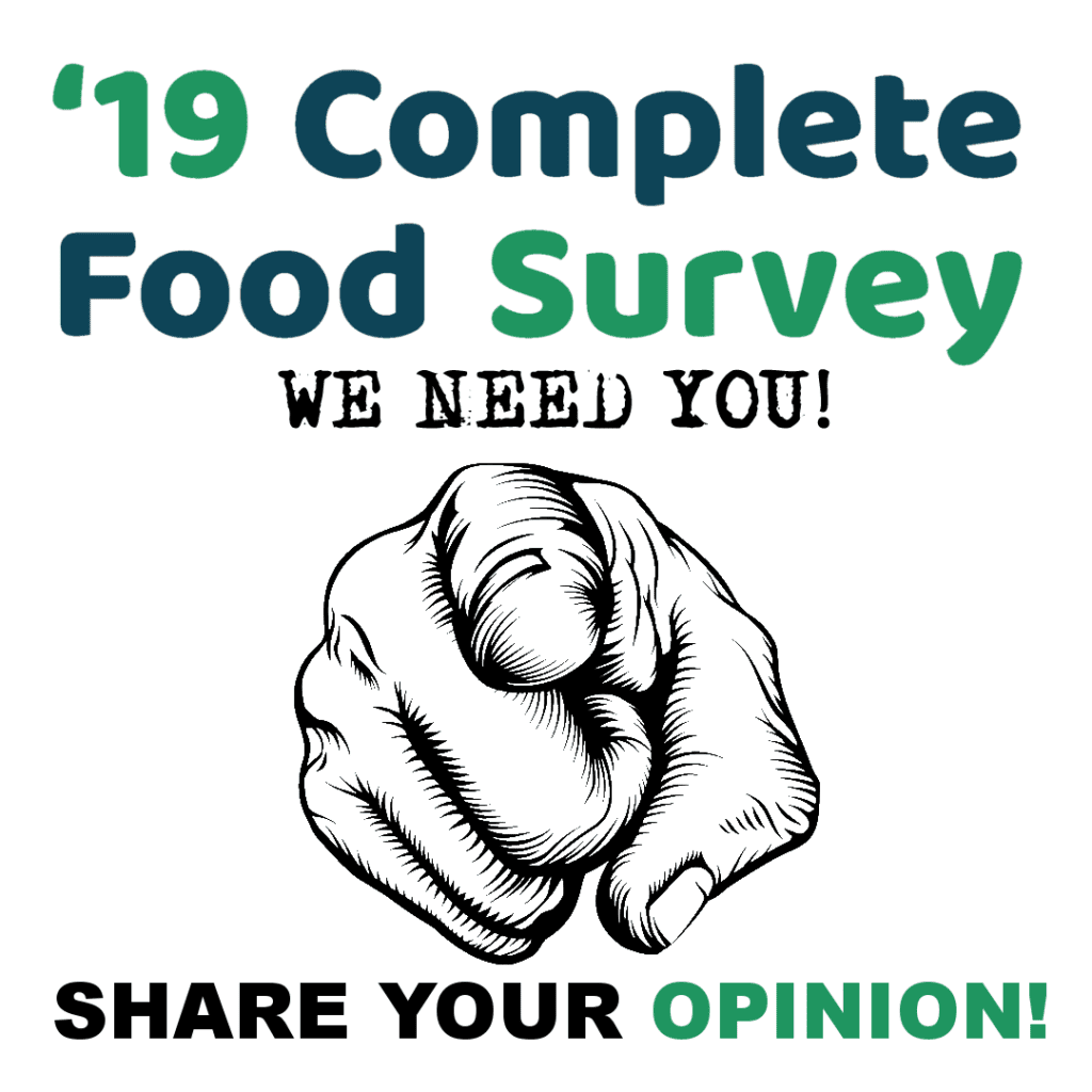 2019 Complete Food Survey
