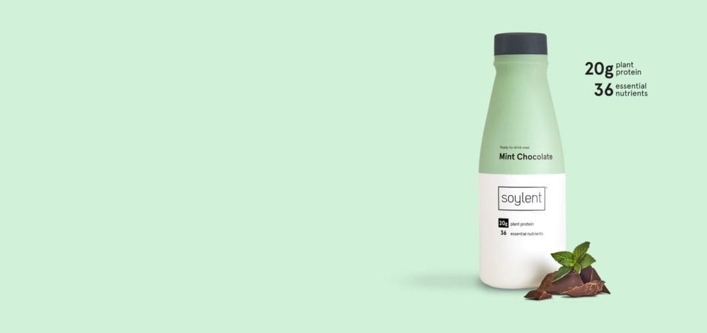 Soylent Mint Chocolate Try