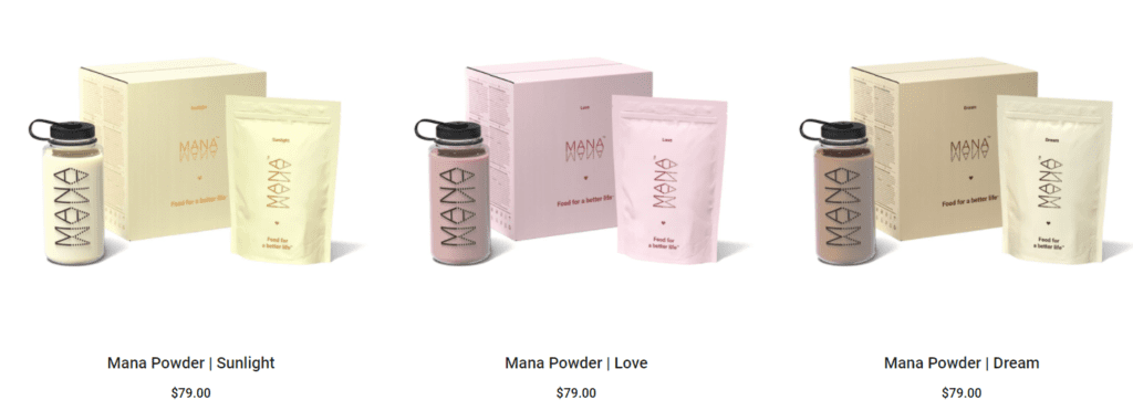 Mana Powder US pricing