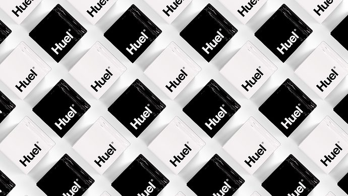Huel Powder and Huel Black
