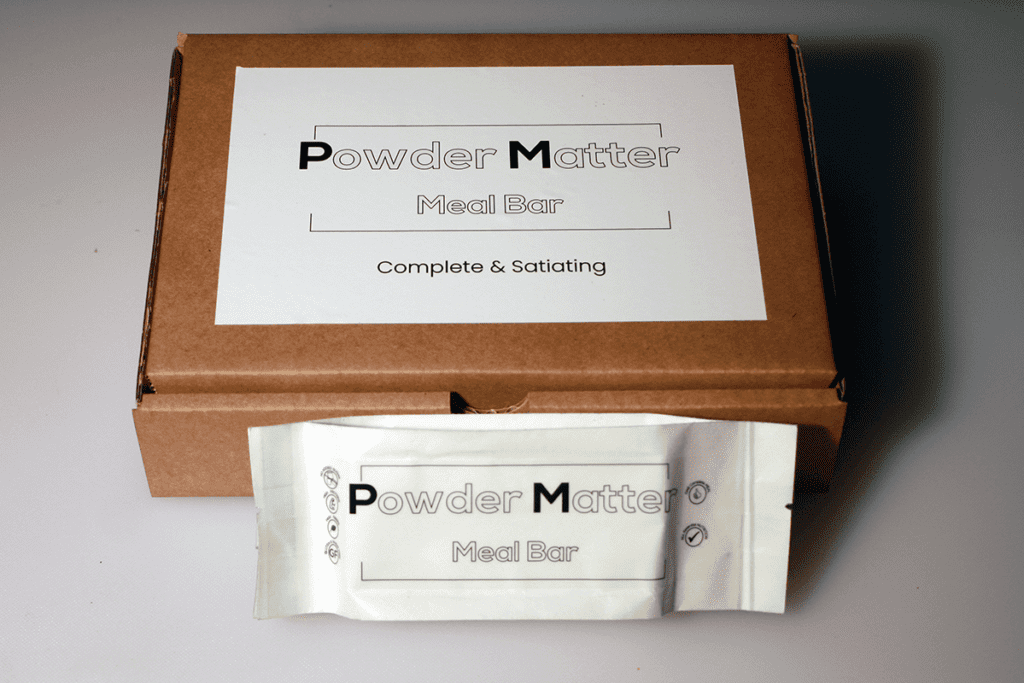 Powdermatter Bar Packaging