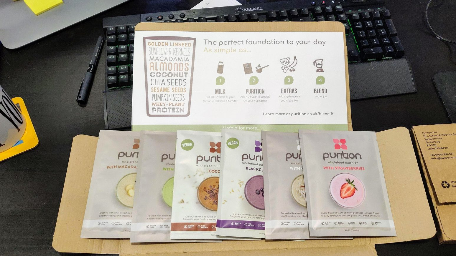 Purition meal shakes box