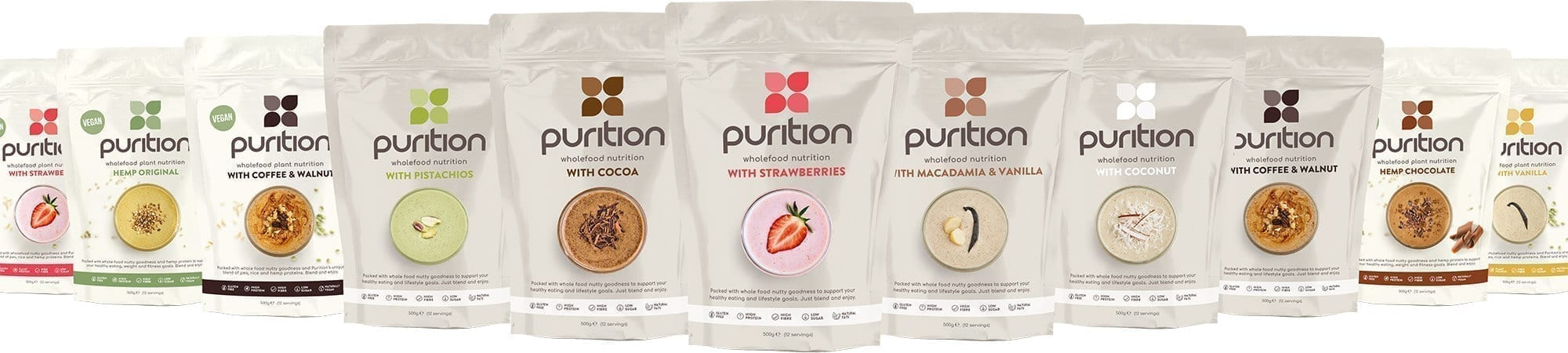 Purition flavour range