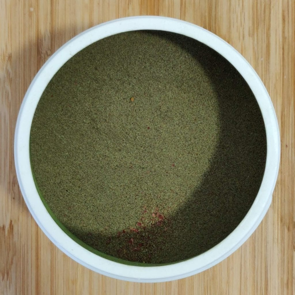 What are green powders?