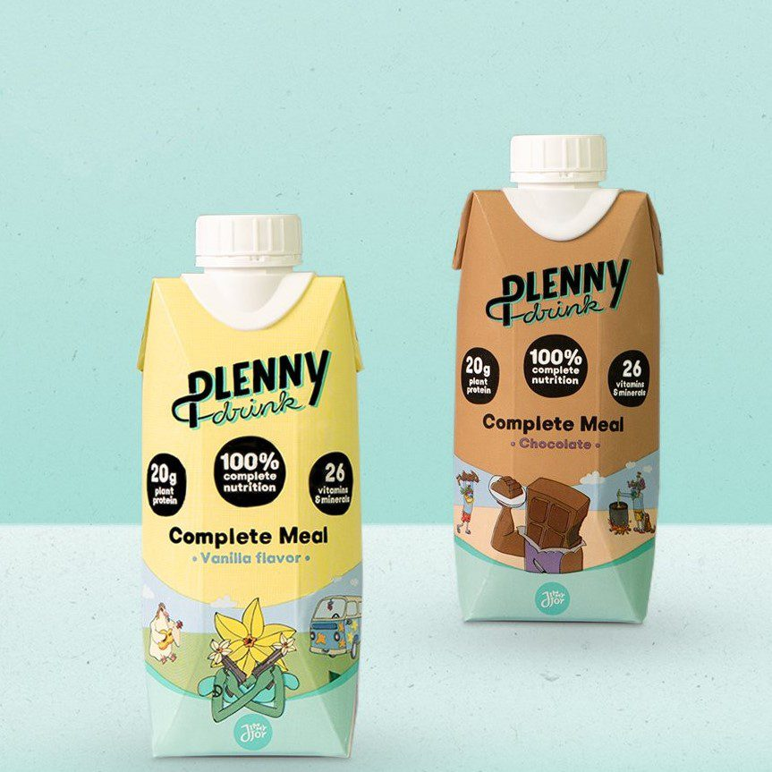 Plenny Drink Review of both flavours