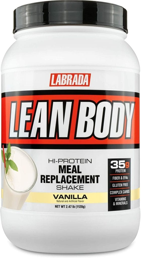 Lean body labrada low calorie huel alternative