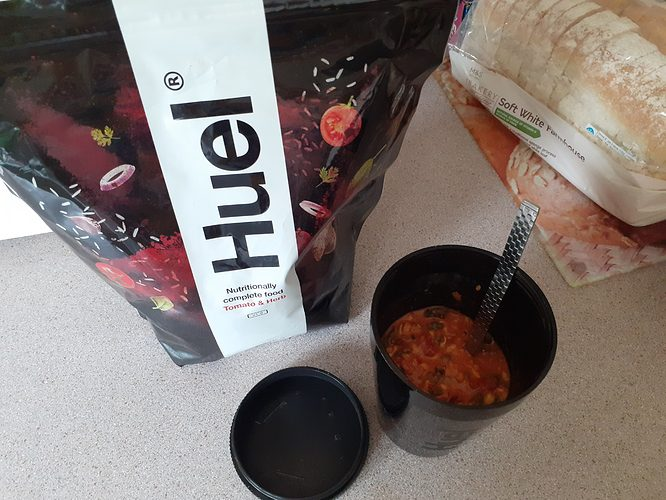 Huel Hot & Savoury tomato & Herb taste review