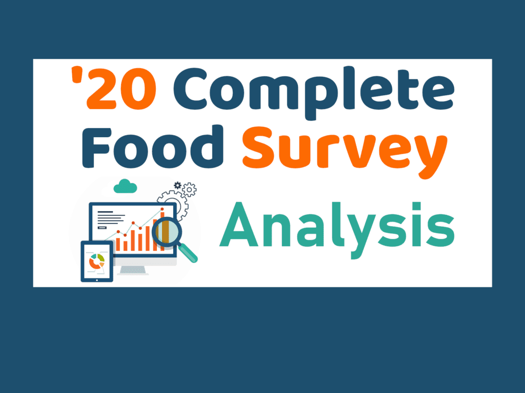 Complete Food Survey 2020 analysis
