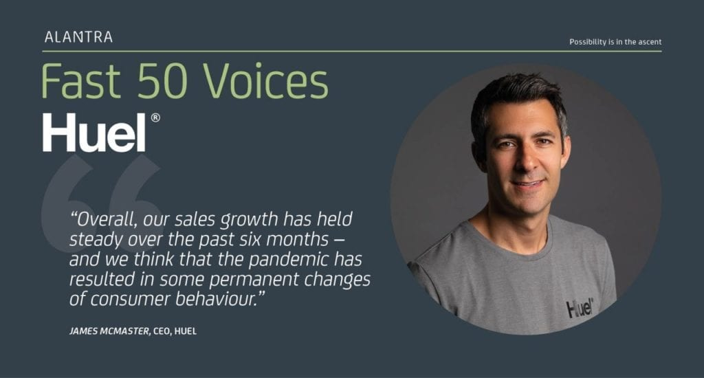 Huel CEO on market changes in 2020