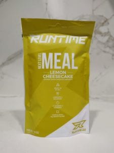 Runtime Lemon Cheesecake taste review