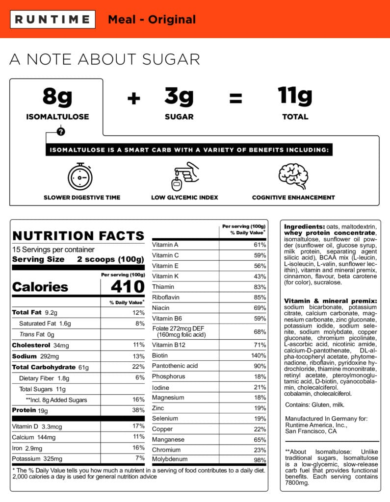 Runtime-Meal-Nutrition-Label