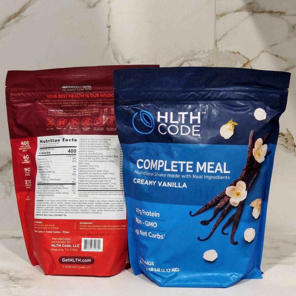 HLTH code bags