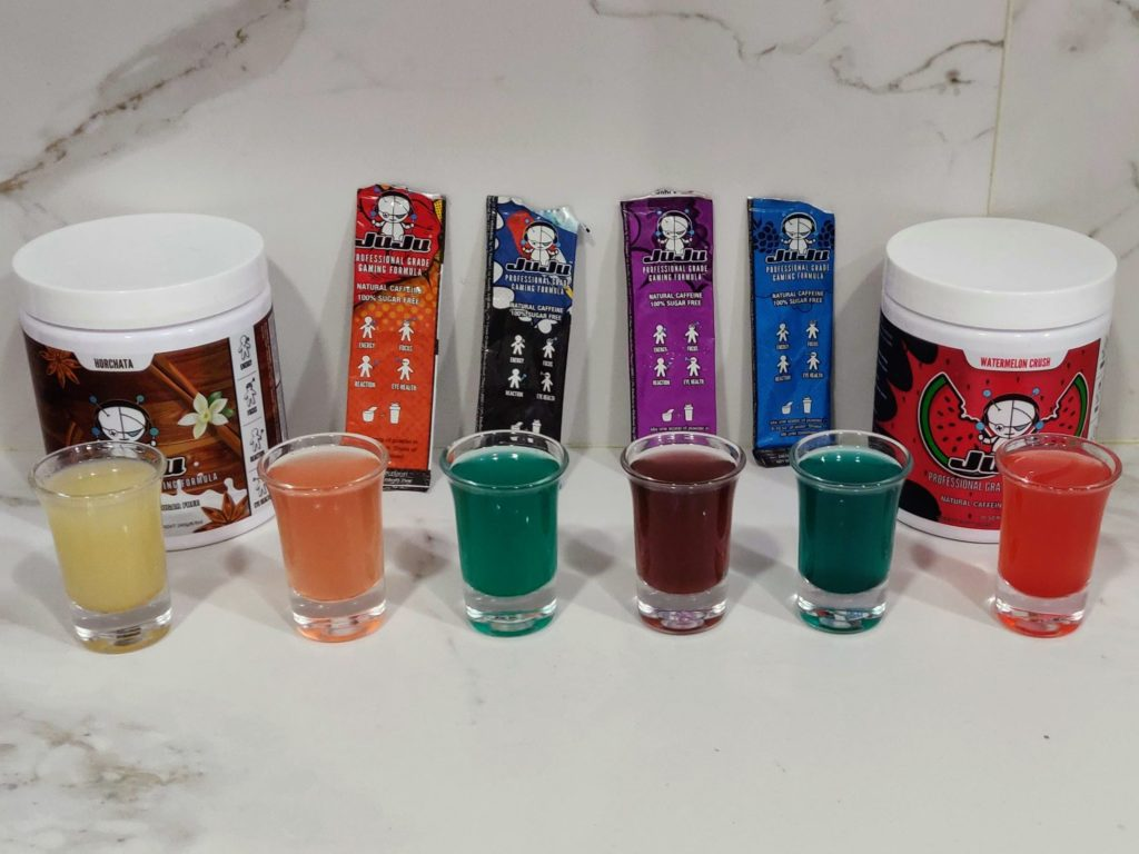 JuJu Energy drink review all flavours